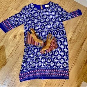 Tribal Aztec Geo shift dress